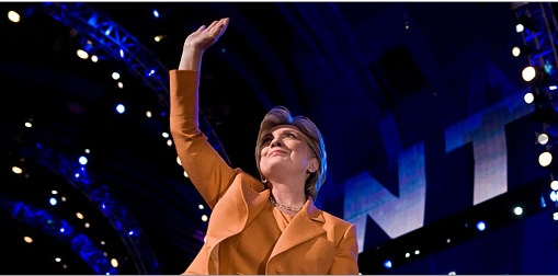 Hillary bids farewell ... for now