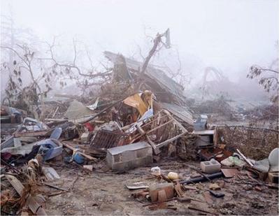Katrina wreckage